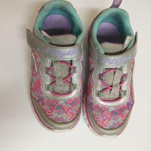 Girl's Sketchers Running Shoe